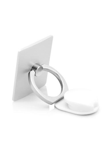 Jacobson Telefon Halkası Style Ring Selfie Yüzüğü Gümüş